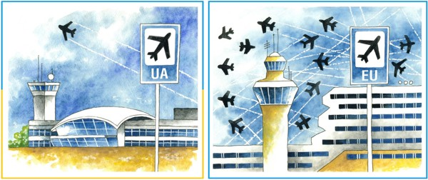Як подорожують українці та мешканці країн ЄС?