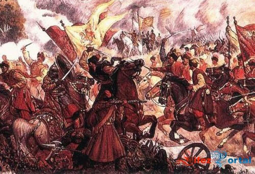 Залишки московського війська добивають козацькі загони
