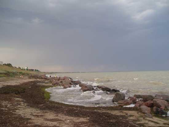Побережжя навколо Генічиська