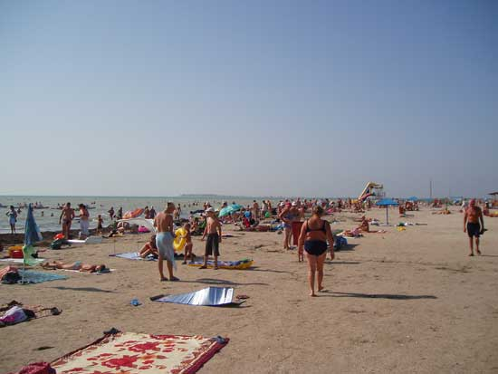 Пляж в Генічиську