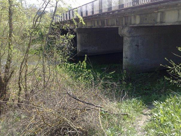 Міст через р.Жванчик