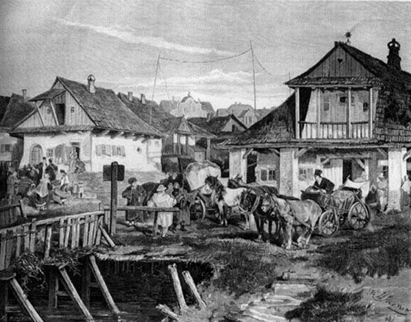 містечка у 18-19 століттях