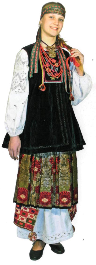 традиційне вбрання Слобожанщини