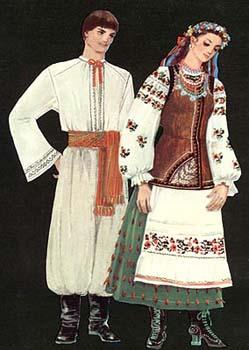 Традиційний одяг Полтавщини та Київщини