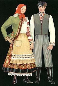 український одяг - Донеччина