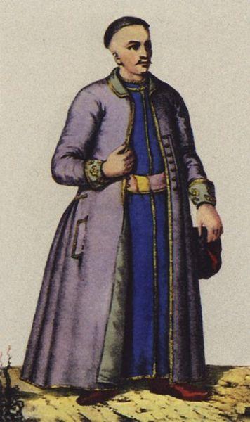Міщанський чоловічий одяг XVIII ст.