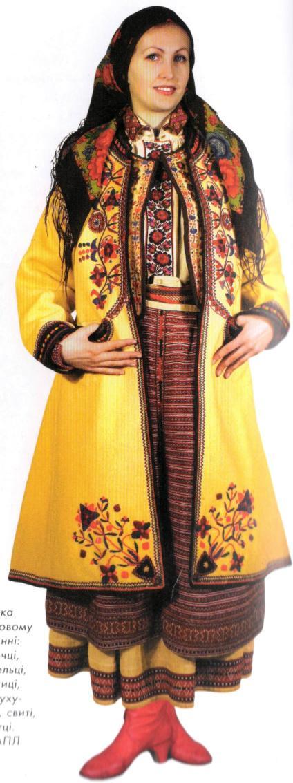 Вишивка - Український одяг Опілля