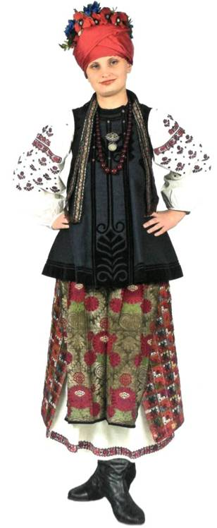 Полтавська жінка із шушоном
