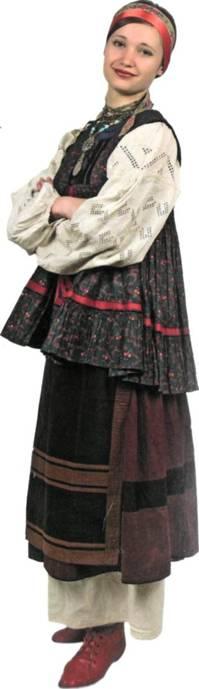 Традиційний полтавський жіночий костюм