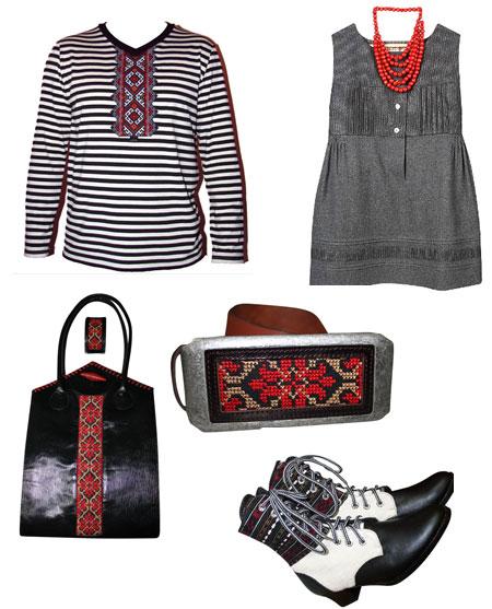 Речі з українською вишивкою