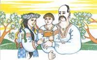 Українська сімя - найкращі традиції