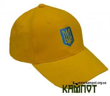 Патріотична бейсболка Патріотична бейсболкаПатріотична бейсболка з вишитим гербом  України ca77555cf5c45