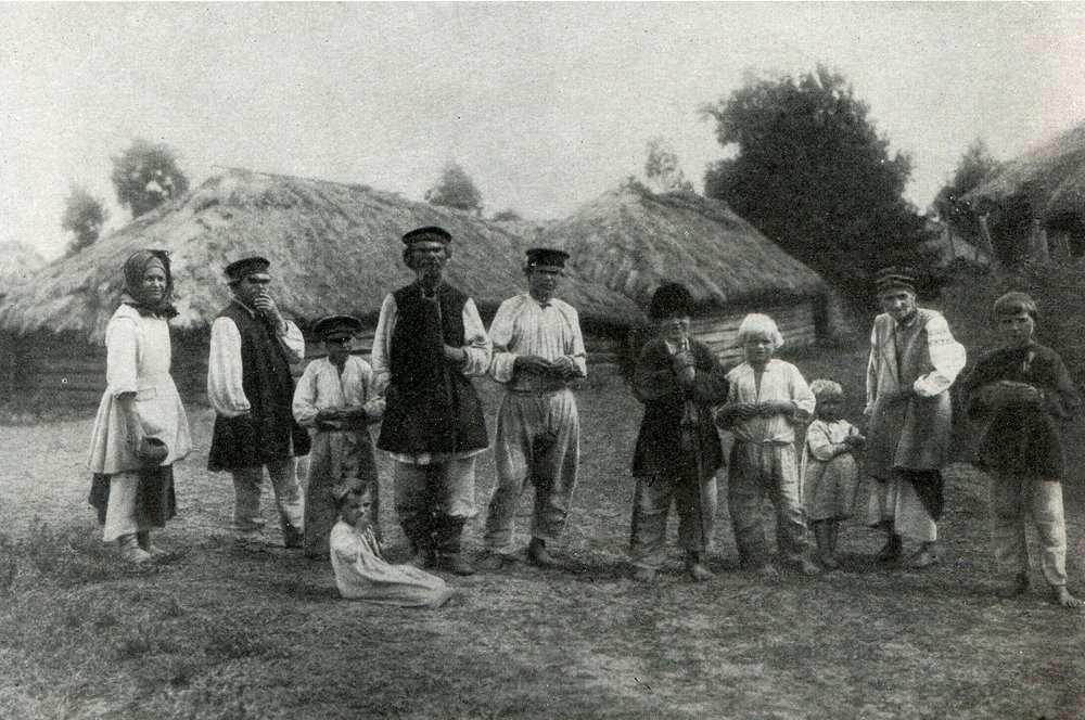 Група селян. 1903р.