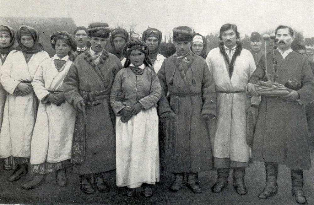 Весільна група ХХ століття.