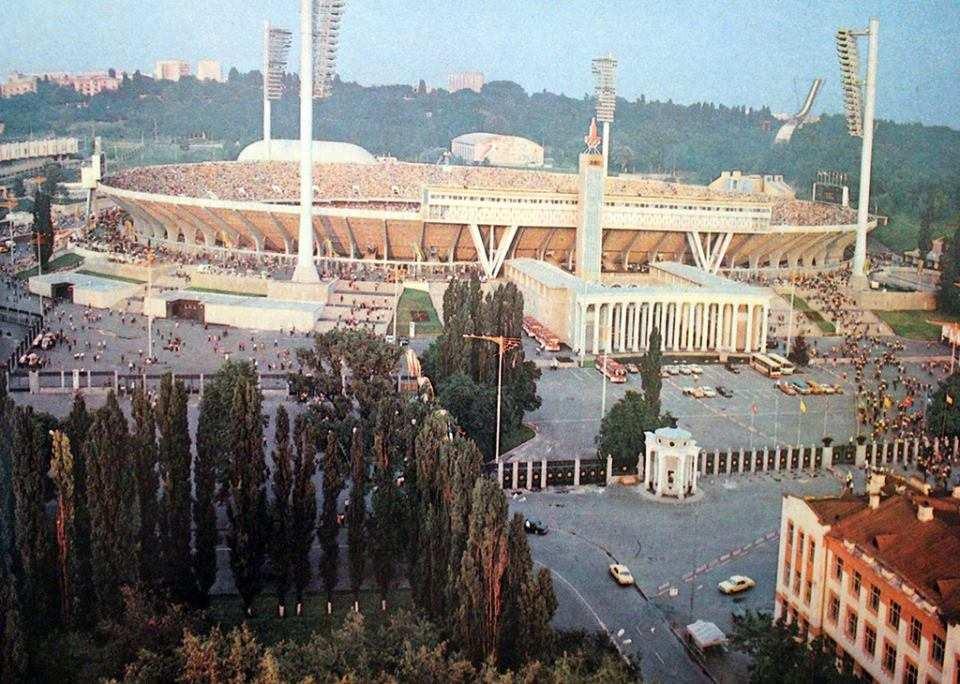 Київський республіканський стадіон 1980-ті