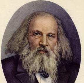 Справжння таблиця Менделєєва 1906 року