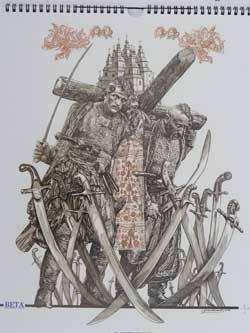 Малюнки козаків