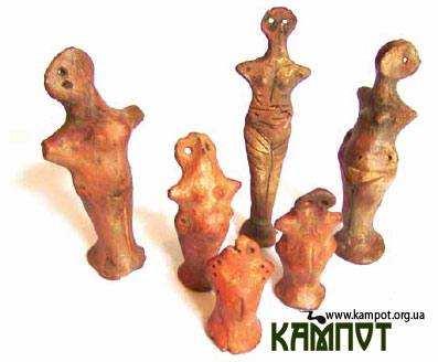 Трипільські статуетки