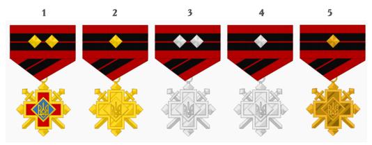 Хрести Бойової Заслуги УПА