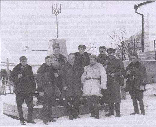 Ростислав Волошин з командуванням УПА