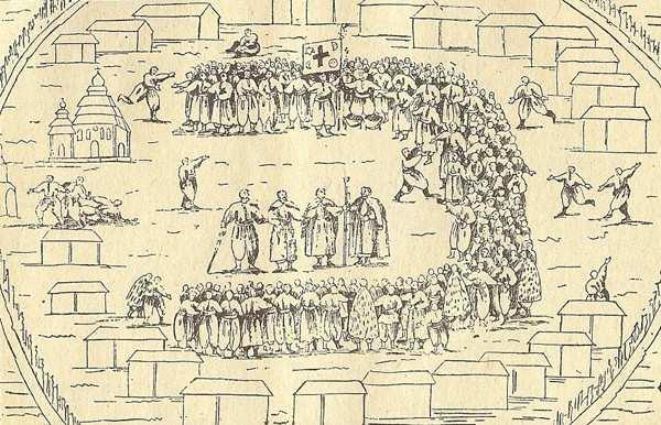 Козацька рада на Запоріжі