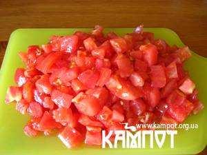 різані помідори