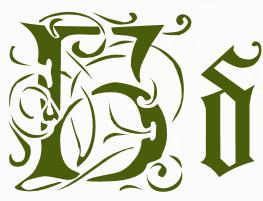 Каліграфічний український шрифт