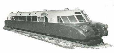 Швидкісний український потяг 1930