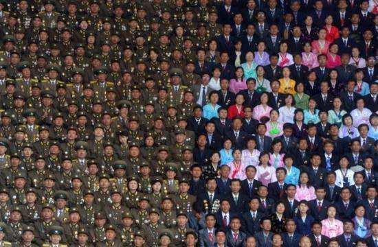 Північнокорейські військові і цивільні