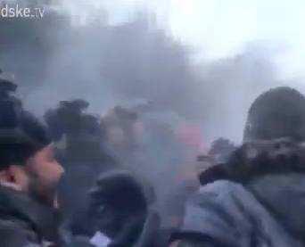 В Києві почались сутички з зеками