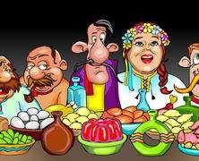 Українське весілля у векторі