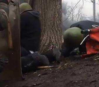 Відео з місця де вбивали хлопців снайпери!