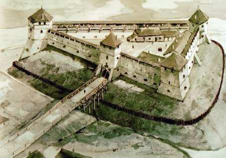 Замок у Токах