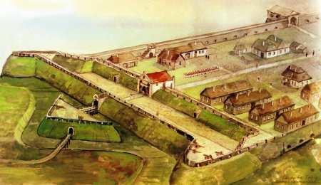 Фортеця в Окопах
