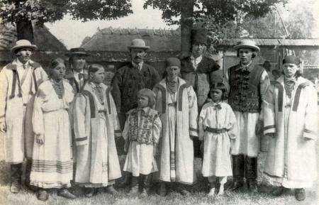Група селян. Івано-Франківськ