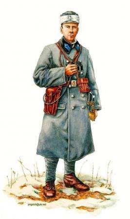 Офіцер Української Галицької Армії, зима 1918-19р.