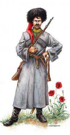 Козак кінної сотні 3-го Гайдамацького полку, 1919р.