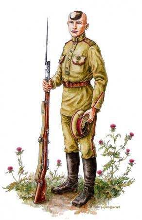 Хорунжий 2-го Запорізького полку, літо 1918 р.