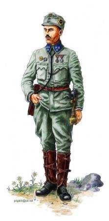 Сотник Українських Січових Стрільців, 1915 р.