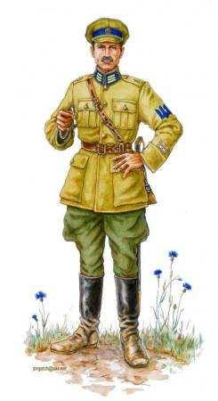 Січові стрільці 1917-1920-их років. Збірка малюнків.