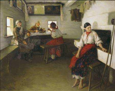 Свати в українській хаті