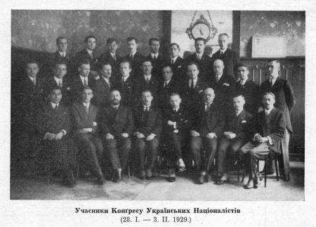 Учасники конгресу націоналістів