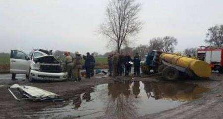 Місце катастрофи Андрія кузьменко