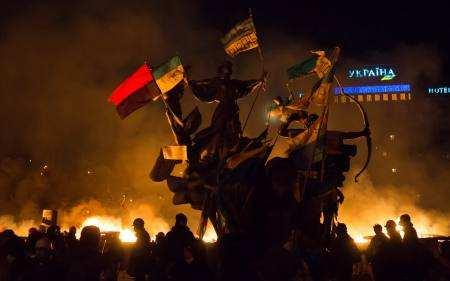 Київ, Щек, Хорив і Либідь у вогні Майдану