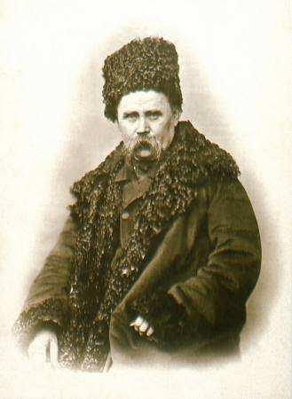 шевченко. фото в шапці. 1859
