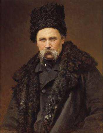 Портрет Шевченка намальований І.Крамським
