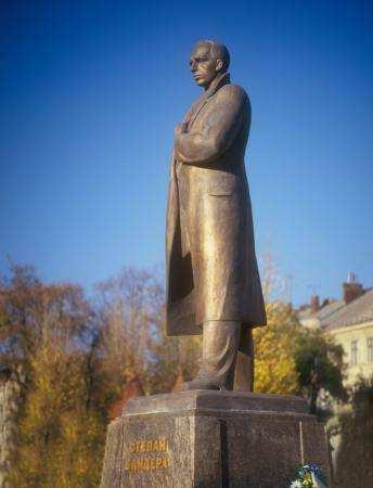 Пам'ятник Степану Бандері У Львові