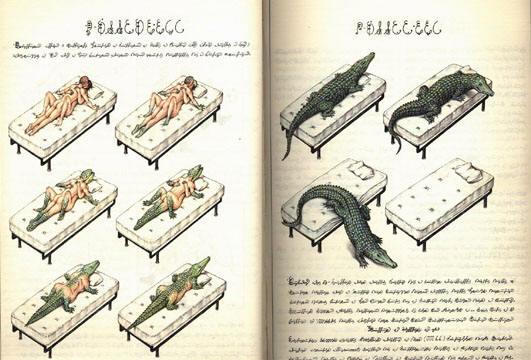 Відома сторінка з книги Код Луїджі Серафіна