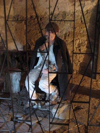 Кармелюк у в'язниці