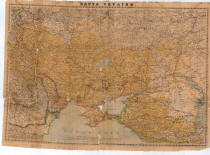 Карта України 1918 року